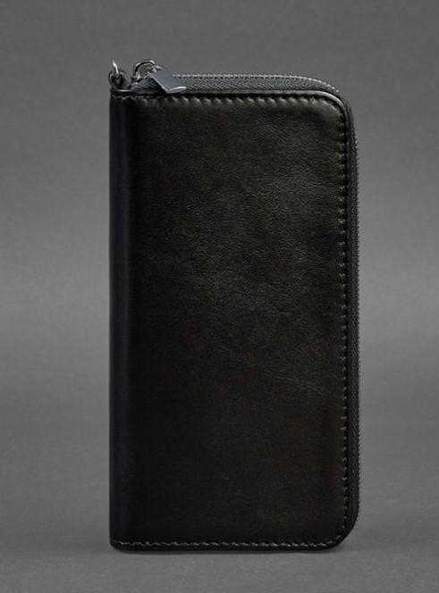 Кожаное портмоне Blanknote на молнии 6.1 17801 - фото 1