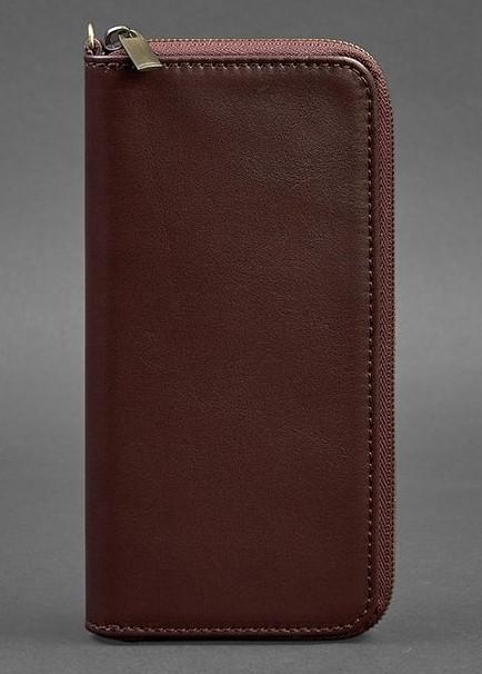 Кожаное портмоне Blanknote на молнии 6.1 17802 - фото 1