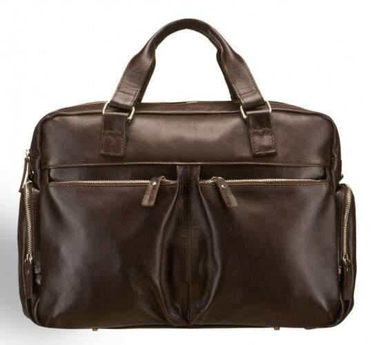 Мужская кожаная сумка Blamont 5232 - фото 1