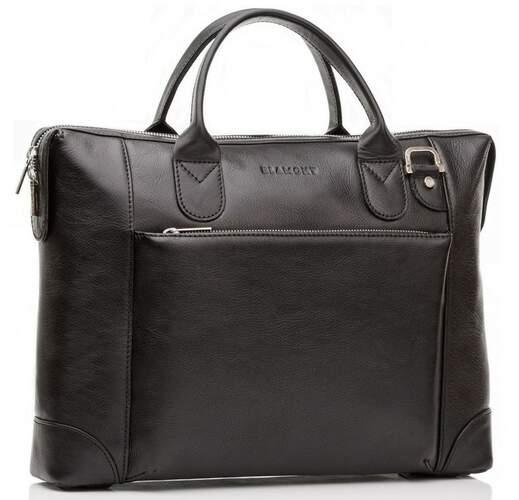 "Кожаная сумка для ноутбука 15,6"" Blamont 6578 - фото 1"