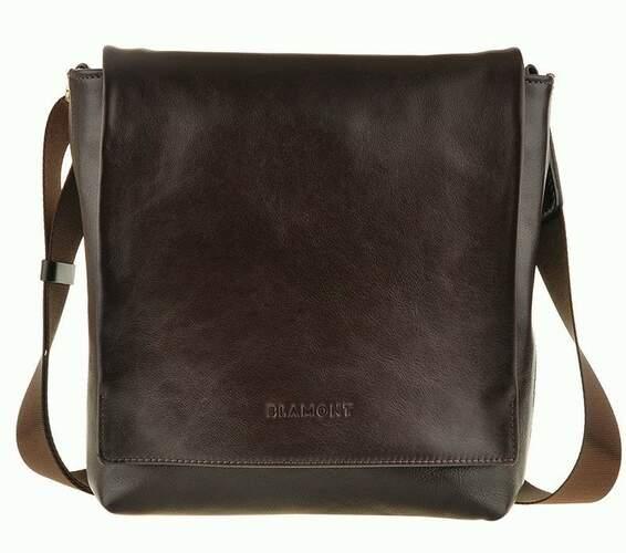 Мужская кожаная сумка Blamont Bn027C 6130 - фото 1