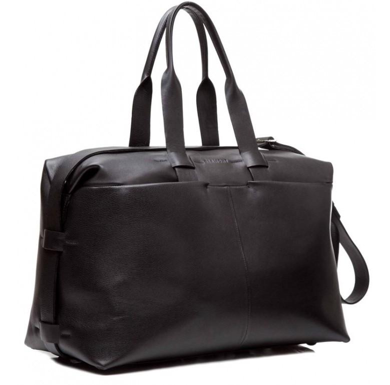 Дорожная кожаная сумка Blamont Bn072A 7615 - фото 1
