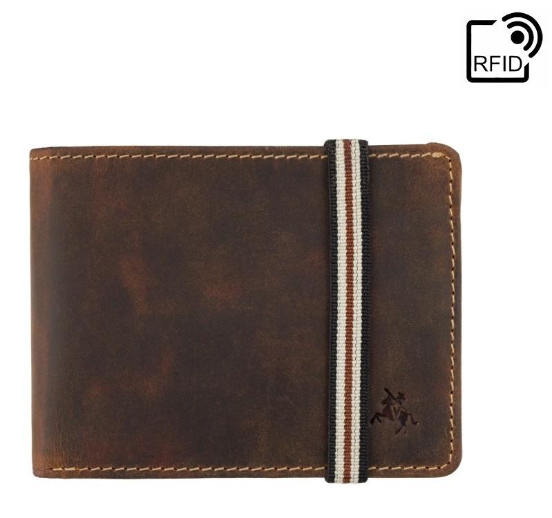Мужской кожаный кошелек Visconti Arrow 17903 - фото 1