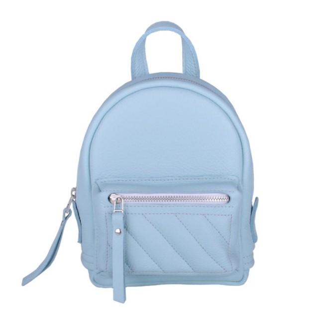 Кожаный рюкзак JIZUZ BABY SPORT SOFT AQUA 11558 - фото 1