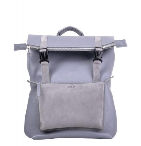 Кожаный рюкзак JIZUZ DESERT GREY 11563 - фото 1