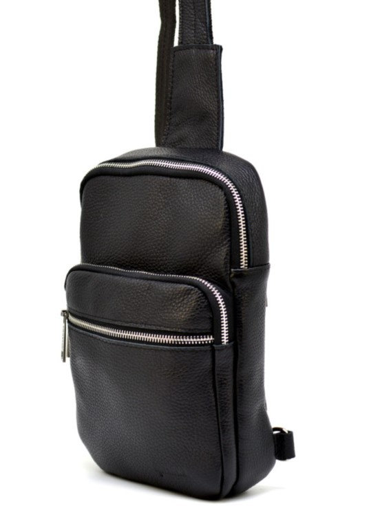 Кожаный рюкзак на одно плечо TARWA 19379 - фото 1