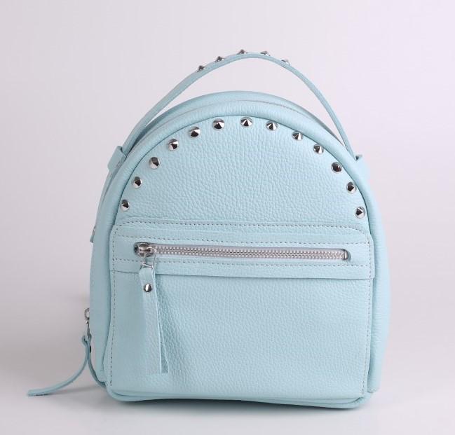 Кожаный рюкзак JIZUZ Fiji Aqua 12141 - фото 1