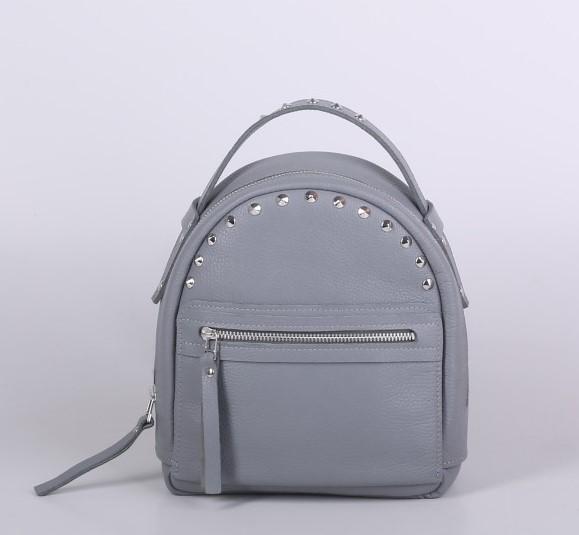 Кожаный рюкзак JIZUZ Fiji Grey 12142 - фото 1