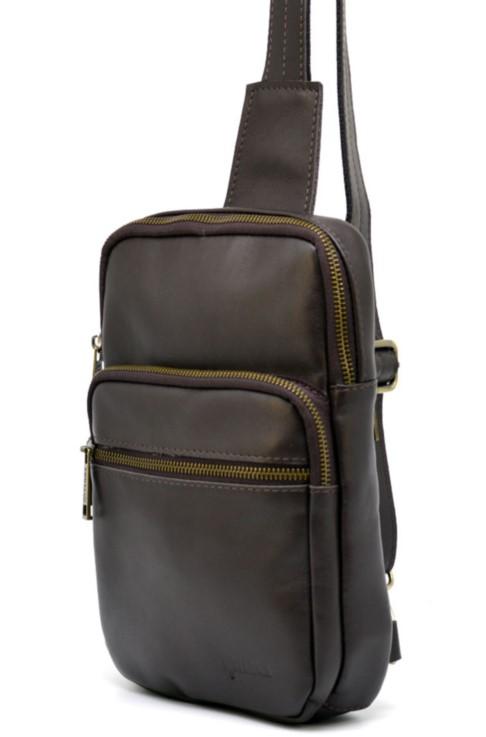 Мужская сумка-рюкзак через плечо TARWA 19353 - фото 1