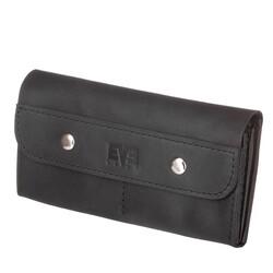 Женский кожаный кошелек Двойной Level id