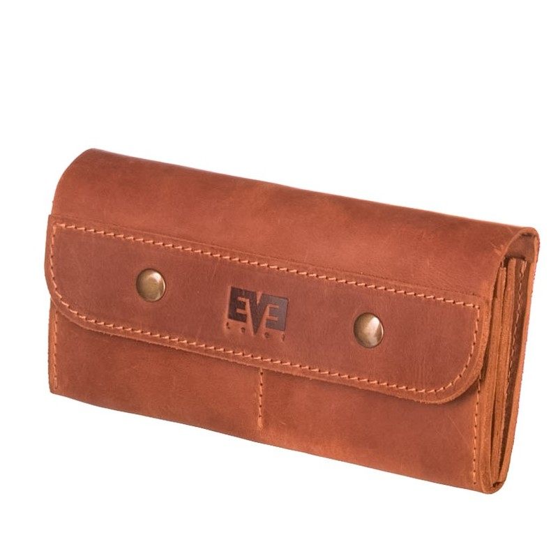 Женский кожаный кошелек Двойной Level 13803 - фото 1