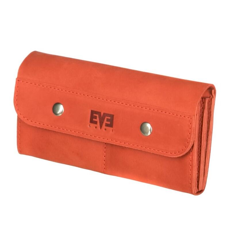 Женский кожаный кошелек Двойной Level 13807 - фото 1