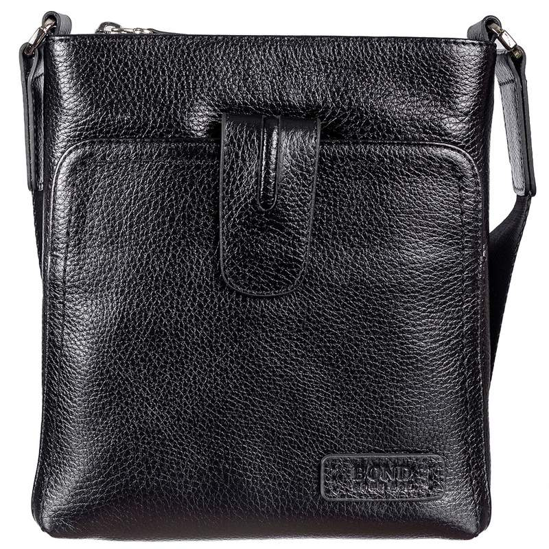Мужская кожаная сумка BOND 17370 - фото 1