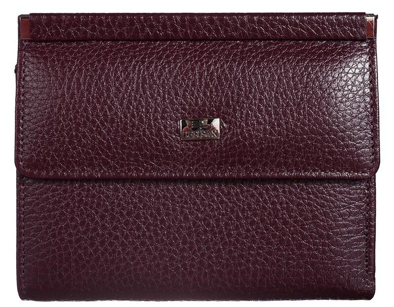 Женский кожаный кошелек Desisan 17637 - фото 1