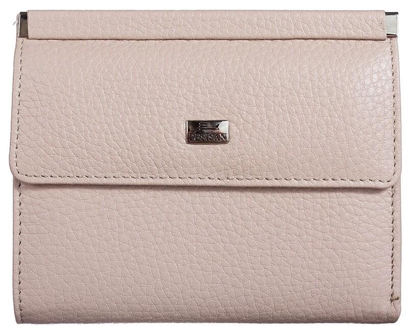 Женский кожаный кошелек Desisan 17636 - фото 1