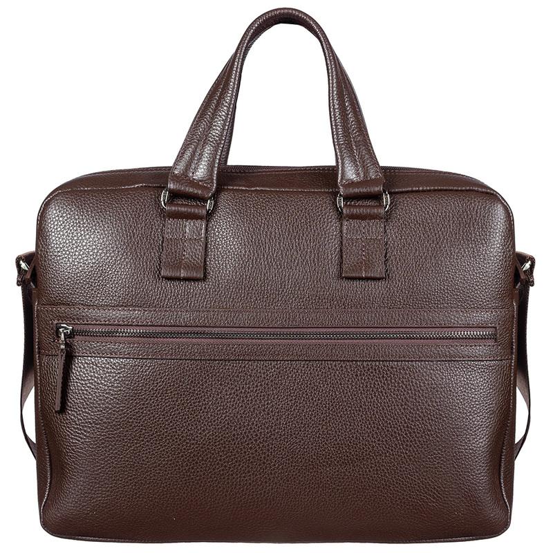 Мужской кожаный портфель BOND 17365 - фото 1