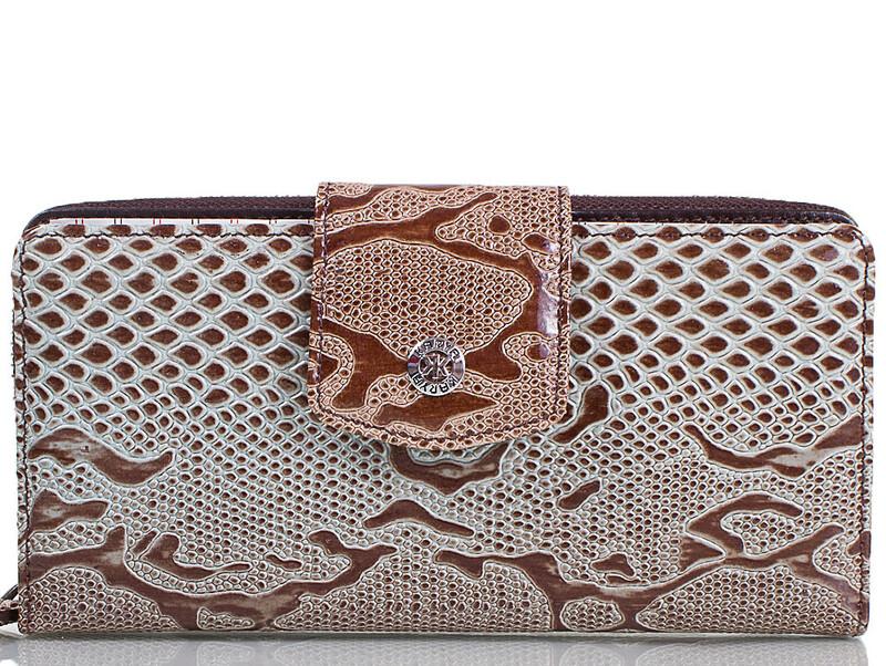 Женский кожаный кошелек KARYA 18972 - фото 1