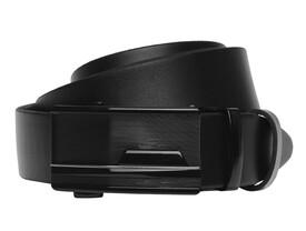 Кожаный ремень с пряжкой автомат Borsa Leather id