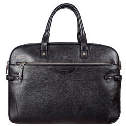 Мужской кожаный портфель BOND id