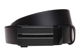 Кожаный ремень с пряжкой автомат Borsa Leather