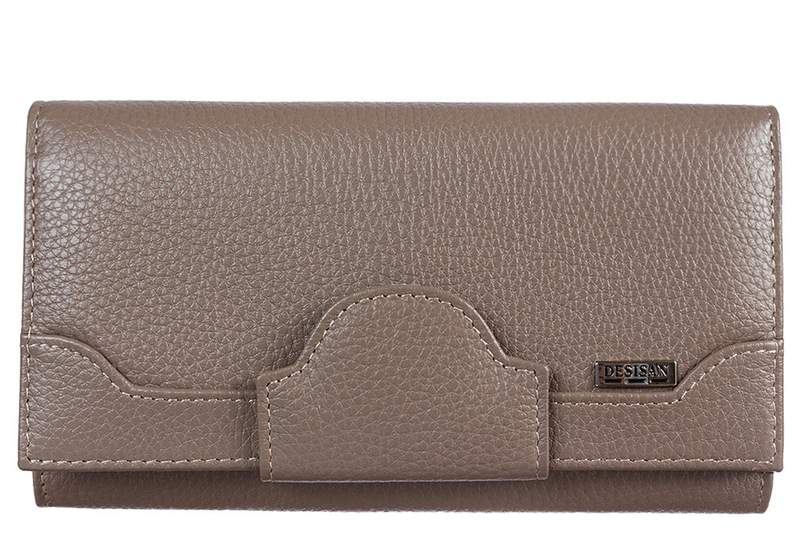 Женский кожаный кошелек Desisan 18908 - фото 1