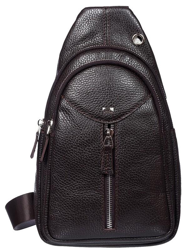 Кожаный мужской рюкзак Desisan 17661 - фото 1
