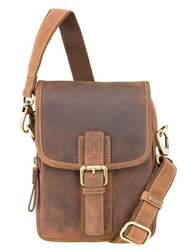 Мужская кожаная сумка Visconti id