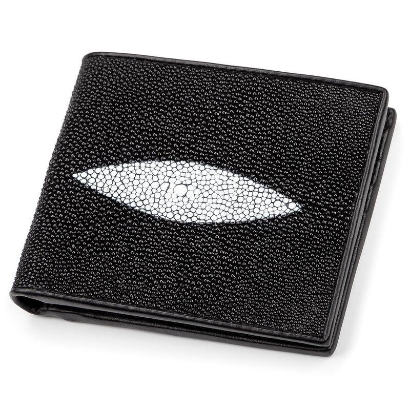Мужской кошелек из кожи ската STINGRAY LEATHER 14334 - фото 1