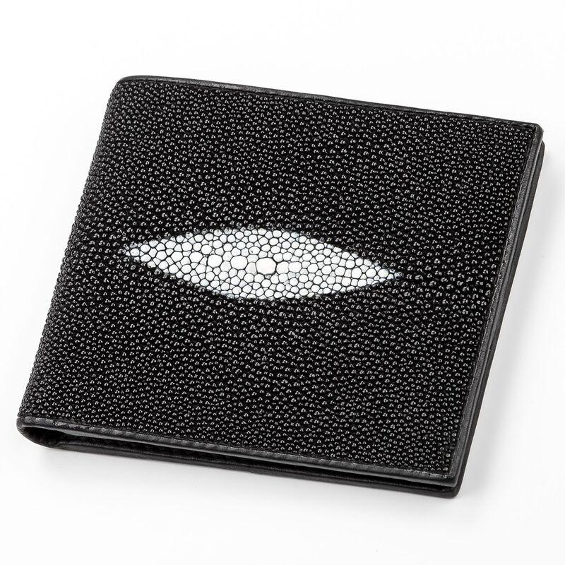 Мужской кошелек из кожи ската STINGRAY LEATHER 14345 - фото 1