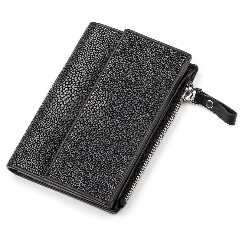 Мужской кошелек из кожи ската STINGRAY LEATHER 14346 - фото 1