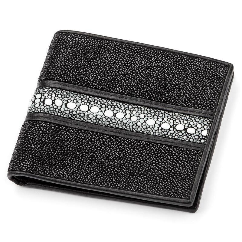 Мужской кошелек из кожи ската STINGRAY LEATHER 14348 - фото 1