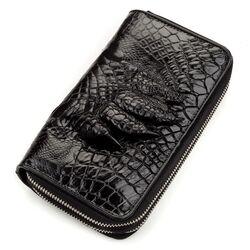 Мужской клатч из кожи крокодила CROCODILE LEATHER id