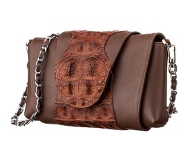 Женская сумка CROCODILE LEATHER из кожи крокодила id