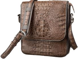 Мужская сумка CROCODILE LEATHER из кожи крокодила id