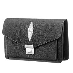 Женская сумка-барсетка STINGRAY LEATHER из кожи ската id
