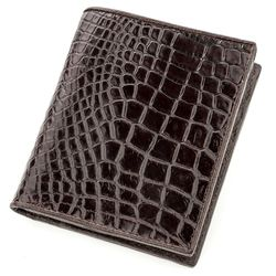 Мужской кошелек из кожи крокодила CROCODILE LEATHER id