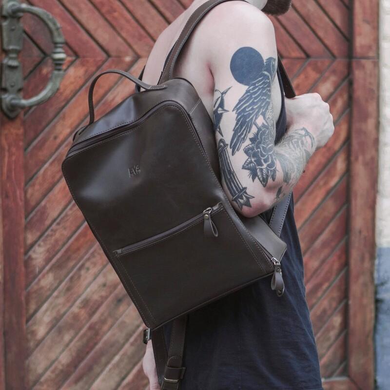 "Кожаный рюкзак Level ""Фото"" 10516 - фото 1"