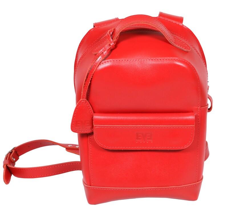"""Кожаный рюкзак Level """"Кукки"""" 13758 - фото 1"""