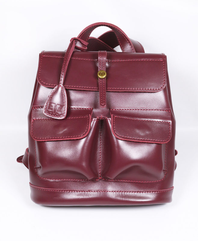 """Кожаный рюкзак Level """"Бейби Боббер"""" 13766 - фото 1"""