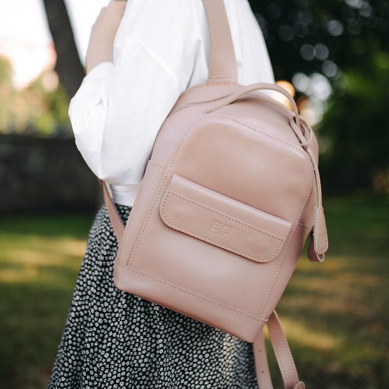 """Кожаный рюкзак Level """"Кукки"""" 13760 - фото 1"""