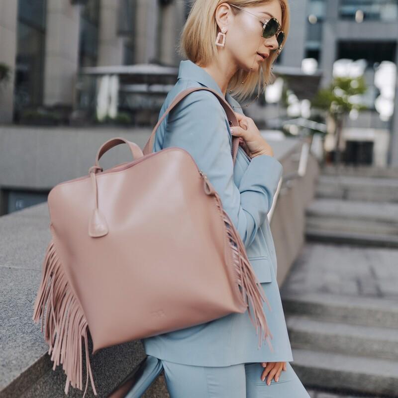"""Кожаный рюкзак Level """"Пеликан"""" 13745 - фото 1"""
