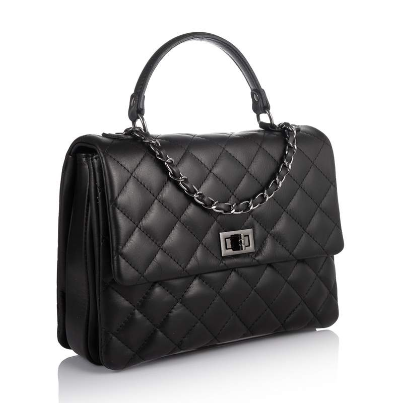 Кожаная женская сумка Virginia Conti (Италия) 17861 - фото 1