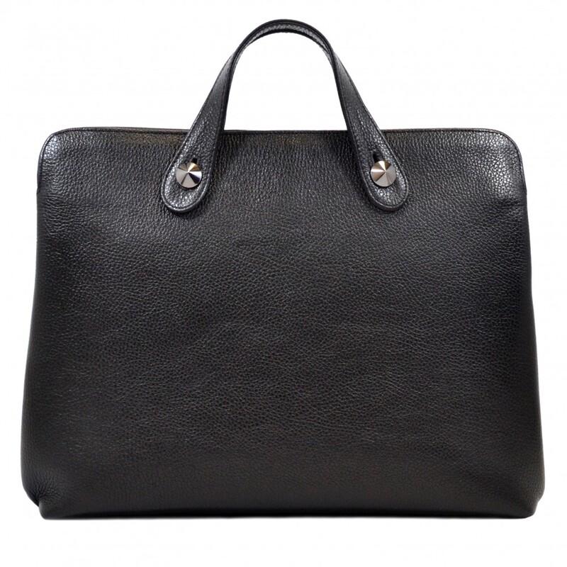 Мужской кожаный портфель Desisan 17652 - фото 1