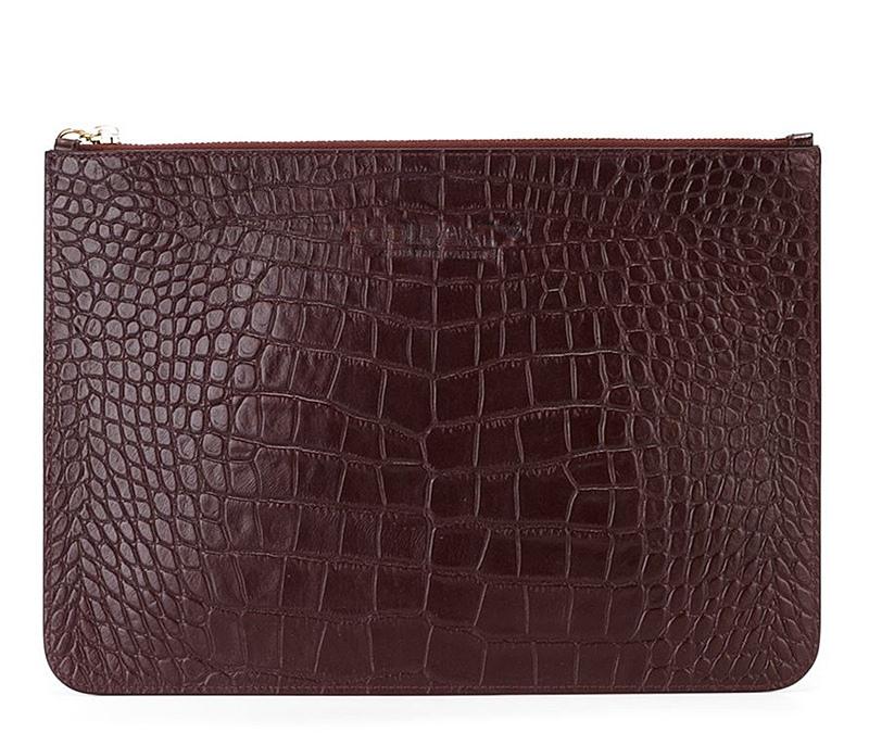 Кожаная сумочка-клатч POOLPARTY 2D 4250 - фото 1