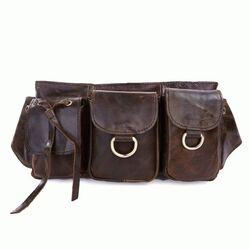 Кожаная поясная сумка 3014R-3 Buffalo Bags