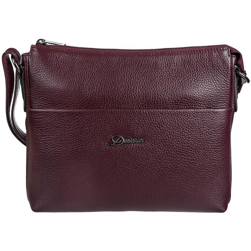 Женская кожаная сумка Desisan 19029 - фото 1