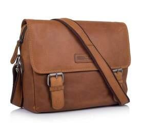 Кожаная сумка-мессенджер Hill Burry (Германия)