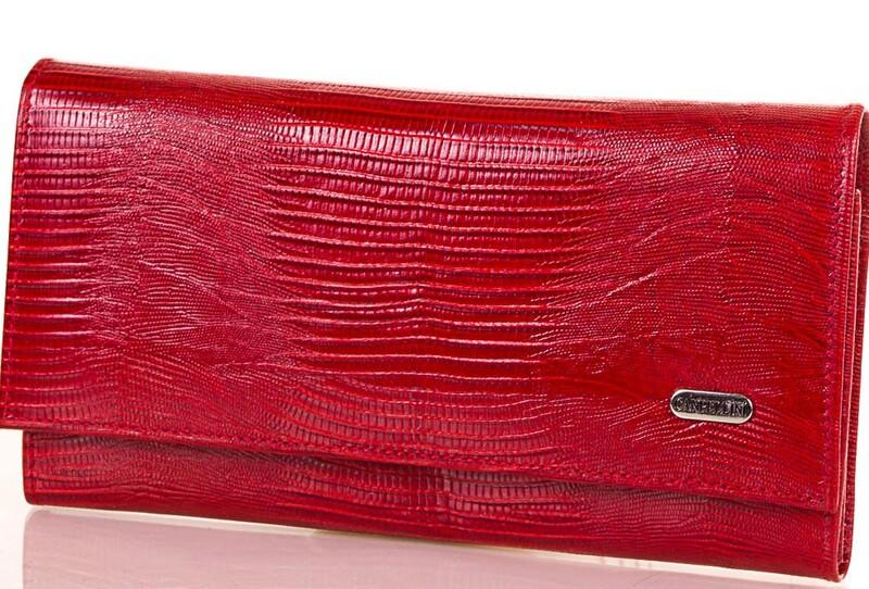 Женский кожаный кошелек Canpellini 17691 - фото 1