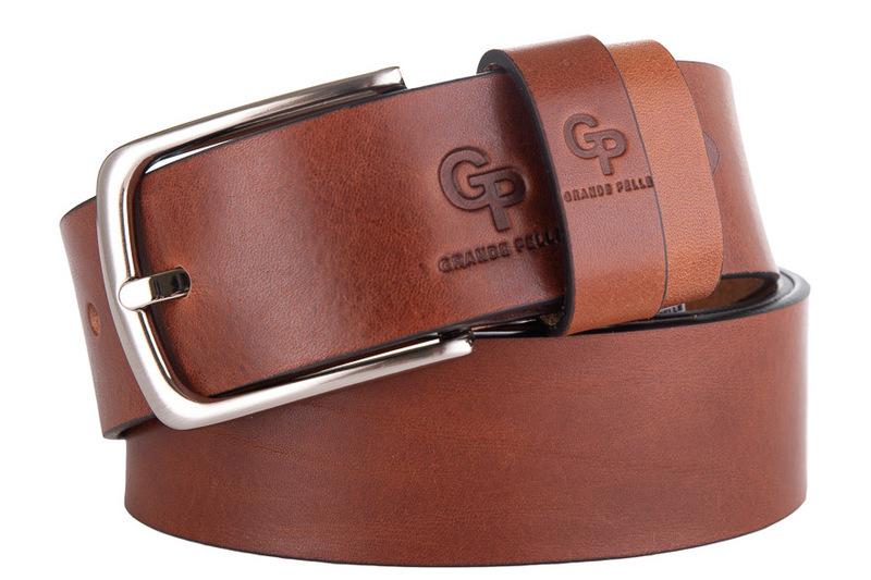 Кожаный ремень Grande Pelle 18560 - фото 1