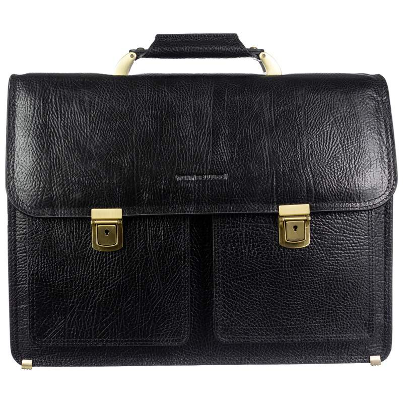 Мужской кожаный портфель Tony Bellucci (Италия) 19013 - фото 1